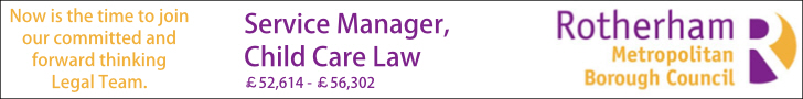 Rotherham Yorkshire Legal Job Vacancies